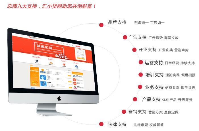 汇小贷网金融加盟
