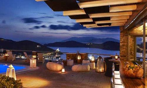 爱琴海酒店加盟外景图