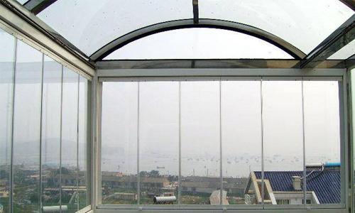 全景无框阳台窗加盟产品图