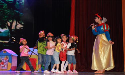 凯蒂卓玛加盟项目儿童戏剧表演图