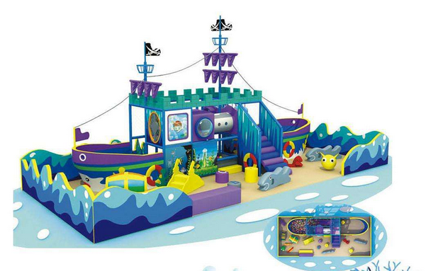 双桨室内儿童水上乐园加盟