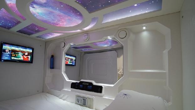 宇宙人太空舱连锁酒店加盟