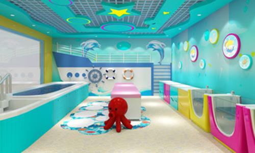 亲亲天使婴儿游泳馆加盟店图片