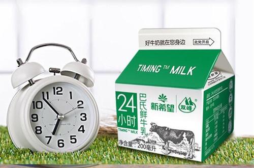 新希望牛奶加盟