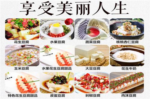 仙豆仙花生豆腐机加盟