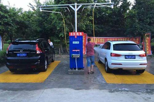 乐乐象自助洗车加盟