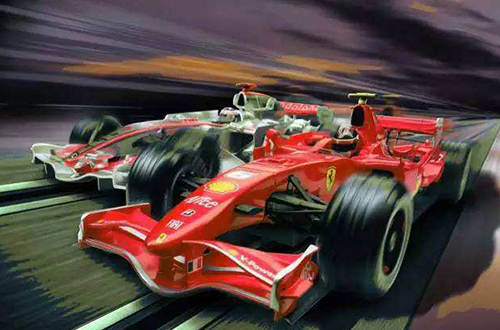 carrera赛车加盟店照片
