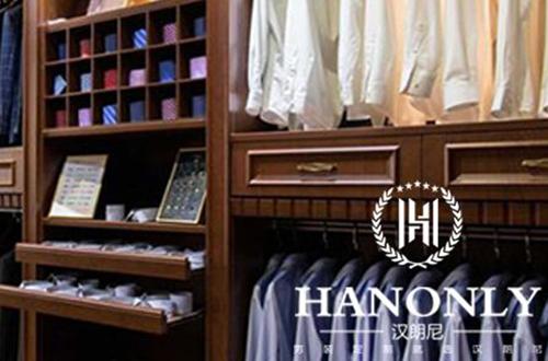 汉朗尼男装加盟店照片