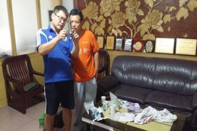迷你影像馆加盟 8月23日河南商丘赵先生现场学习拍摄技巧1