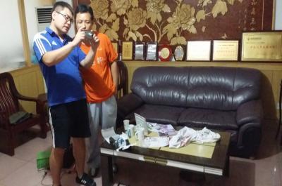 迷你影像馆加盟 8月23日河南商丘赵先生现场学习拍摄技巧2