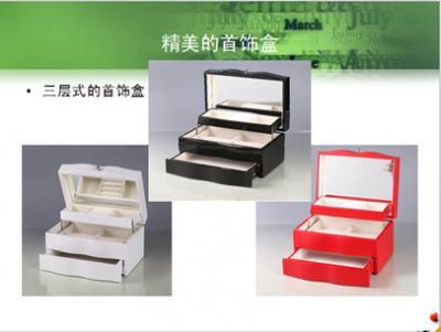 泰明星艺加盟 三层式首饰盒