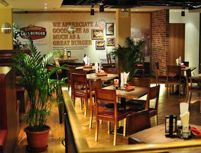 拉亚汉堡经典餐厅加盟 店面