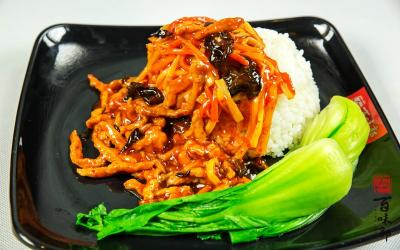 百味郭豆腐脑加盟 鱼香肉丝饭