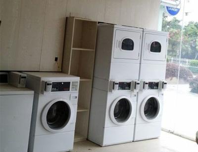奇强洗衣加盟 店面