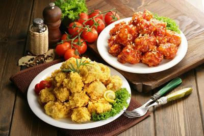kingboo炸鸡加盟 产品