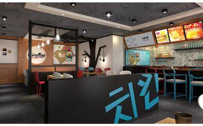 kingboo炸鸡加盟 店面