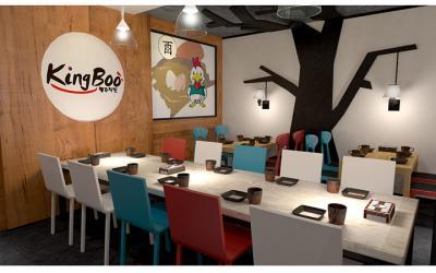 kingboo炸鸡加盟 店面1