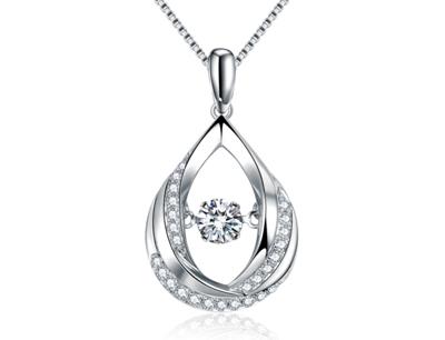 珂兰钻石加盟 珂兰钻石灵动系列项链
