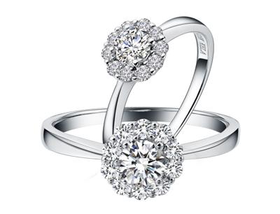 珂兰钻石加盟 珂兰钻石倾城系列戒指