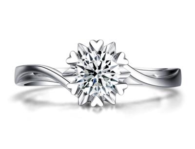 珂兰钻石加盟 珂兰钻石纯爱系列戒指