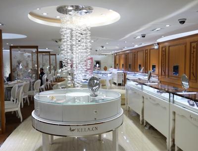 珂兰钻石加盟 珂兰钻石·线下体验店