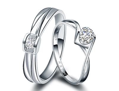 珂兰钻石加盟 珂兰钻石天使之吻对戒