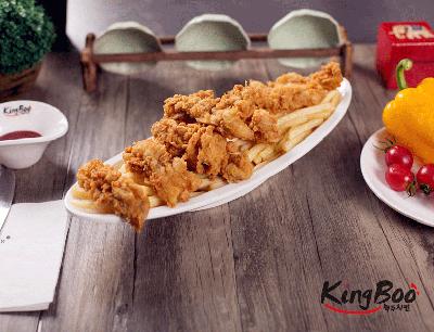 kingboo炸鸡加盟 香脆炸鸡