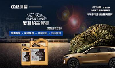 美洲豹车养护加盟 企业形象