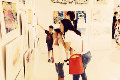 宝贝计画绘本美术加盟 活动展示