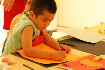 宝贝计画绘本美术加盟 学员展示
