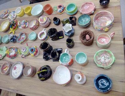 天物坊陶艺馆加盟 陶艺作品