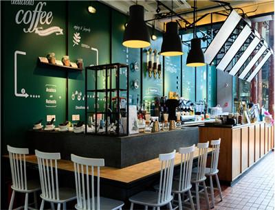 白兔糖咖啡西餐加盟 店面