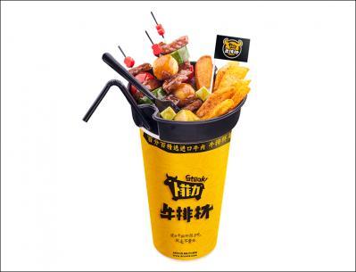 卜菲力牛排杯小吃加盟 产品4