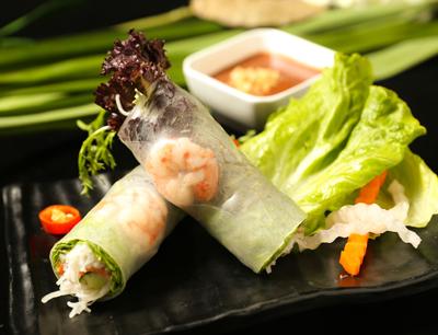 越兰香加盟 手工米纸春卷