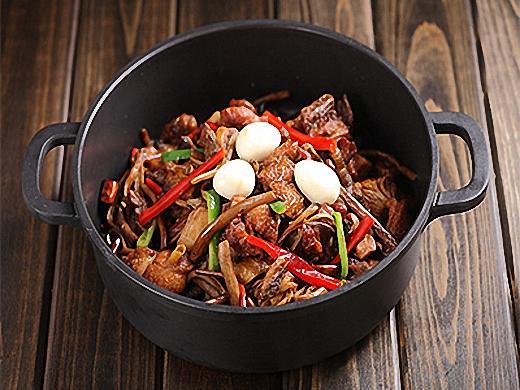 巴国鸡煲香辣虾加盟 产品图片