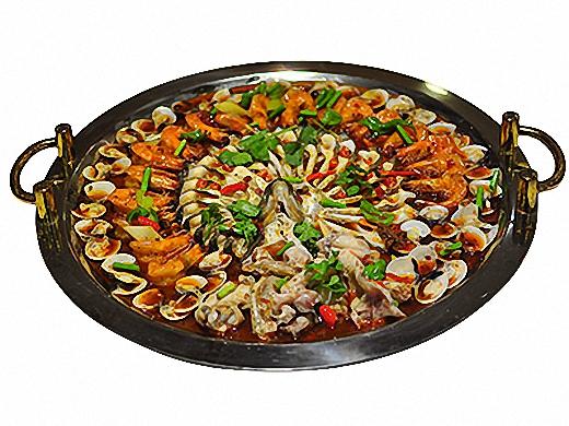巴国鸡煲香辣虾加盟 鱼恋虾