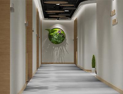 花美时美景酒店加盟 走廊