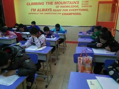 大山外语加盟 大山外语课中