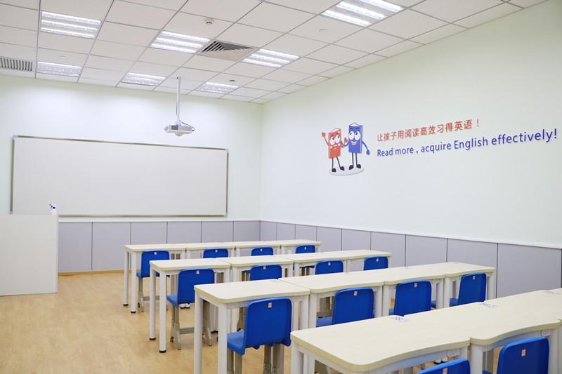 睿丁英语加盟 教室