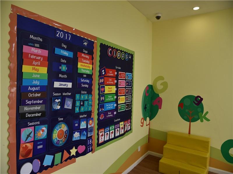 艾比岛教育加盟 教室
