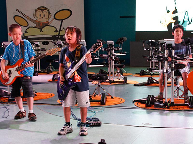 罗兰数字音乐教育加盟 架子鼓表演