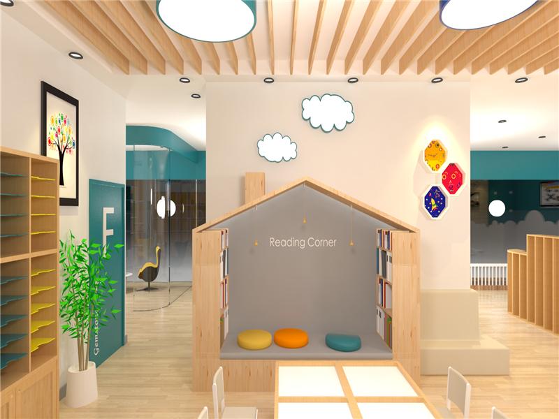 创思童思维教育加盟 教室