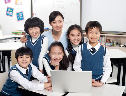优瑞英语加盟 学生