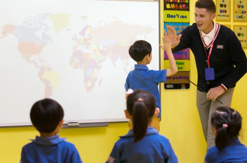 爱贝国际少儿英语加盟 ABIE