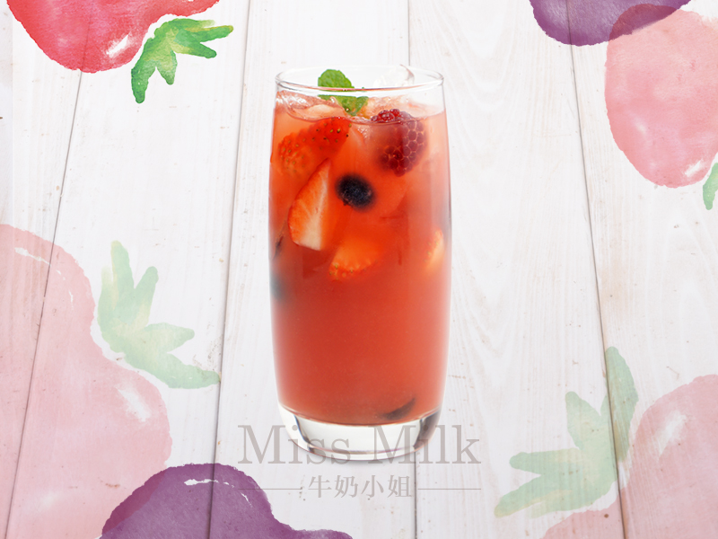 牛奶小姐甜品加盟 维密抗氧莓果