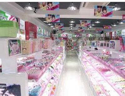 七色花饰品店加盟 图片展示