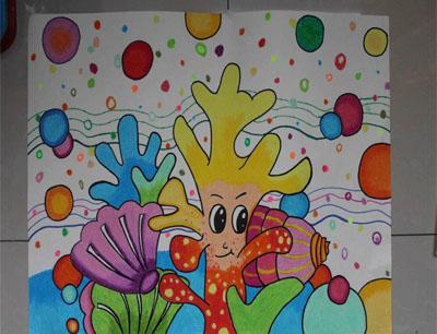 彩翼儿童美术教育加盟图片