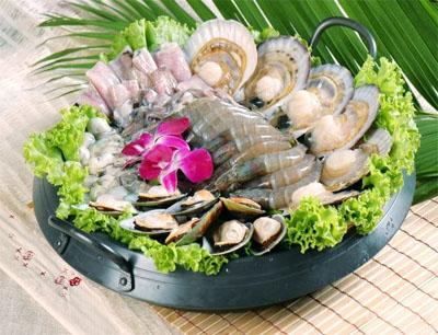 清欢海鲜自助