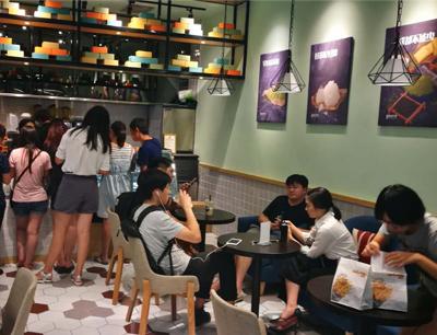 TSAOCAA朝茶加盟 店面图
