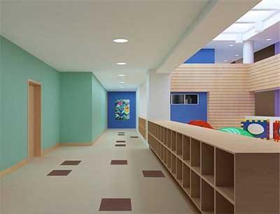大地幼儿园加盟 店面内部